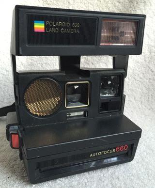 Vintage Polaroid Autofocus 660 Camera