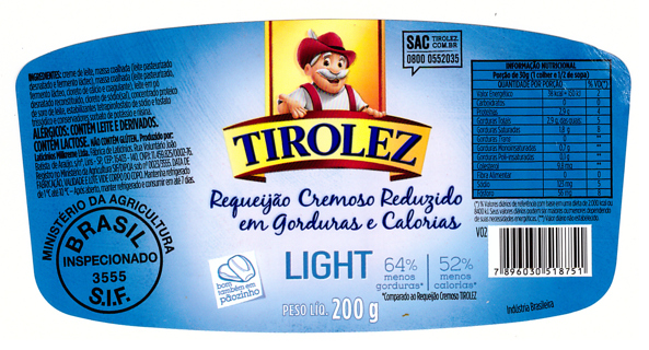 TIROLEZ LIGHT label