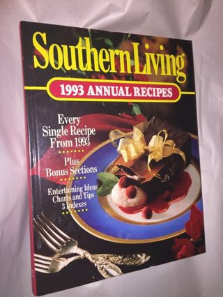 vintage Southern Living 1993 Annual Recipes great cookbook