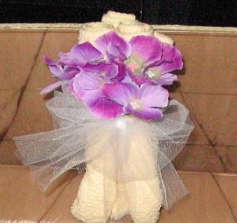 Floral Washcloth Craft