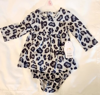 BABY GIRL 0/3 months DRESS AND DIAPER COVER L@@K HOW CUTE