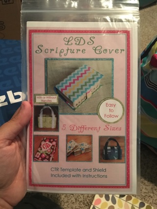 LDS scripture cover instruction