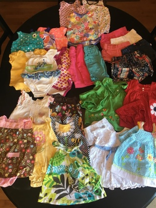 Girls 3-6 Month Clothing  (27 pieces)