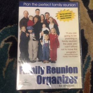 Family Reunion Organizer for Windows NEE