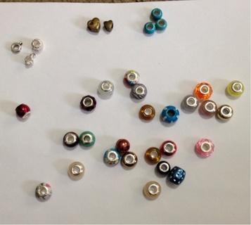 Euro Beads 30+.  Lot 1
