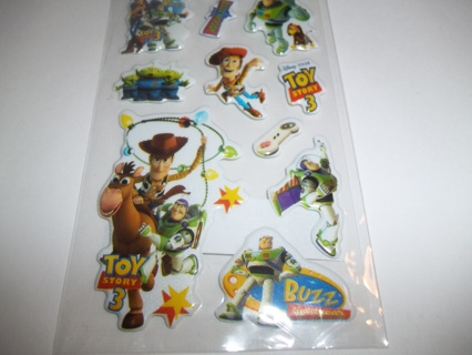 TOY STORY Puffy Stickers