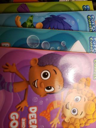 4 Bubble Guppies Board Books