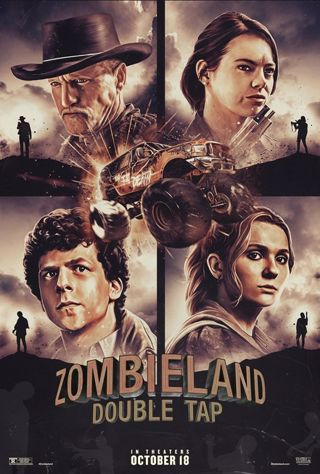 Zombie Land Double Tap *DIGITAL HD (POSSIBLY 4K) CODE ONLY*