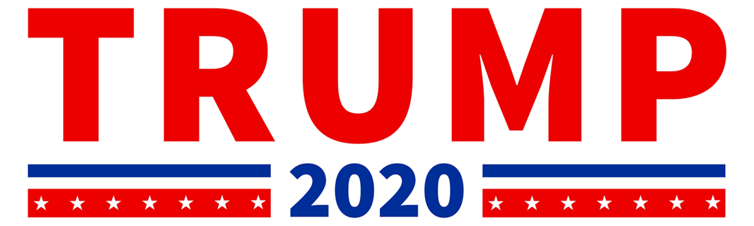 1 NEW Donald Trump For President 2020 Election Bumper Sticker America FREE SHIPPING