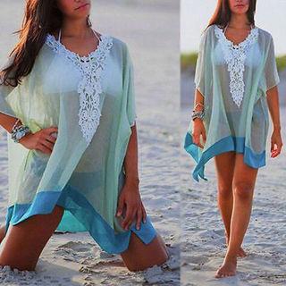 1 NEW Women's Chiffon Wrap Beach Dress Bikini Cover-Up FREE SHIPPING