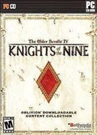 Elder Scrolls IV: Knights of the Nine (PC, 2006) Brand New & Factory Sealed OBO