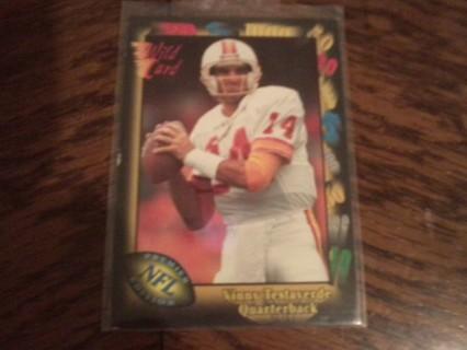 Vinny Testaverde NFL WILD CARD