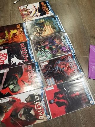 DC COMIC LOT: DETECTIVE BATMAN