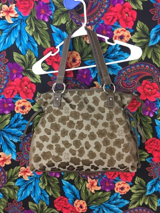 WOMEN'S ANIMAL PRINT PURSE PATTERN DESIGN SHOULDER BAG