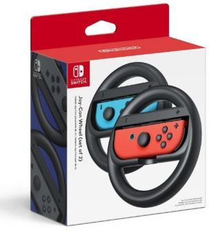 NEW Nintendo Joy-Con Wheels (Set of 2) For The Nintendo Switch Video Game Console