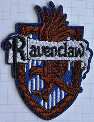 Harry Potter Ravenclaw Embroidered patch