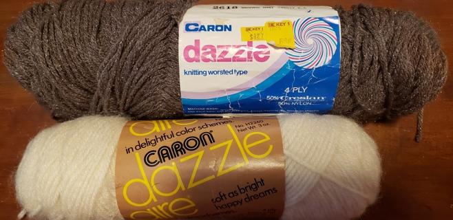 NEW - CARON Dazzle Yarn - 2 skeins