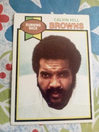 Topps #399 Calvin Hill