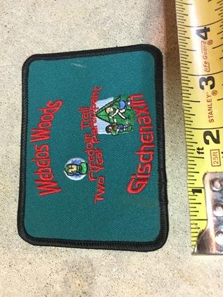 Webelos Patch Boy Scout