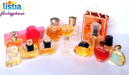 14 Vintage Perfume Miniatures Lancome Lauder Arden GIN=FULL SIZE CELINE DION