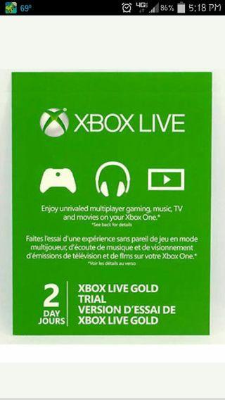 Xbox codes 48 hour free live Xbox Live