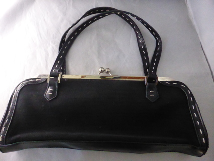 WHITE HOUSE BLACK MARKET Black Sachet Purse Handbag Bag - NWOT