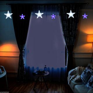 7ft star string lights - 60 LEDS