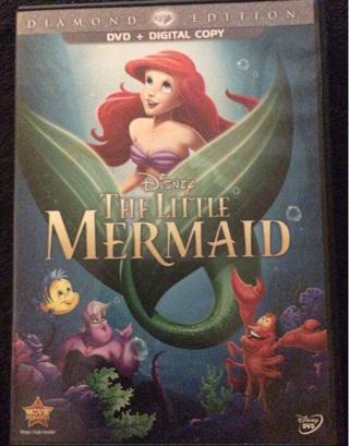 Disney's The Little Mermaid DVD
