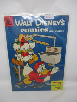 WALT DISNEY'S comics and stories #181