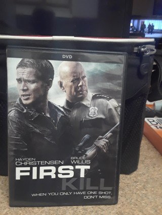 FIRST KILL DVD WITH BRUCE WILLIS