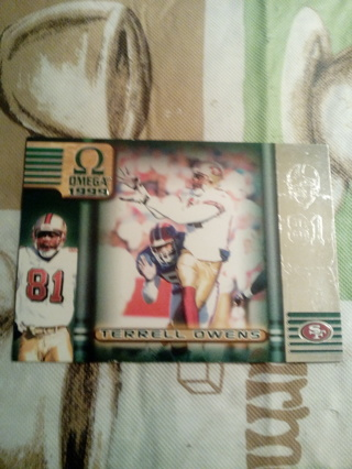 1999 Omega #205 Terrell Owens