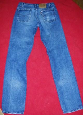1e50184f Vintage LEVIS 509 orange tab grunge Jeans 90's made in usa~killer fade  40509-