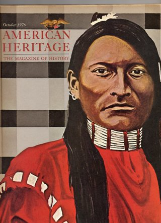 Vintage American Heritage Hard Covered Book: October 1976