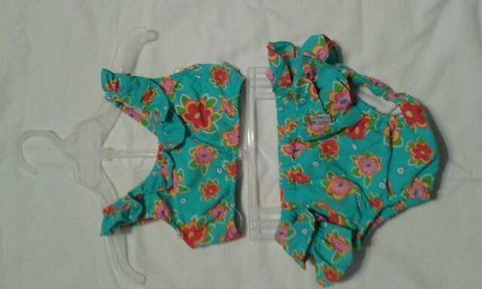 Large (22 - 25 pounds) baby girls swim suit