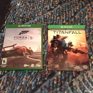 Forza Motorsport 5 XboxOne game and TitanFall full game download for XboxOne