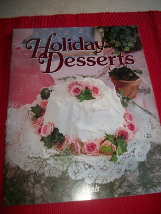 """Holiday Desserts"" Cookbooklet by Michelle Prater Burke"