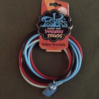 Rubber Bracelets. Cartoon Network.