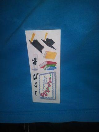Graduation Scrapbook Stickers