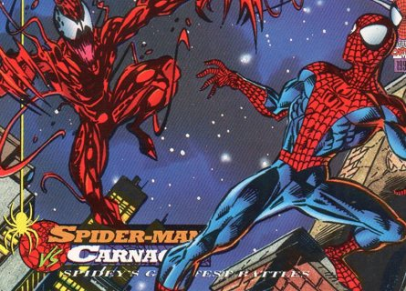 1994 Spider-Man: Collectible/Trade Card: Spider-Man vs Carnage