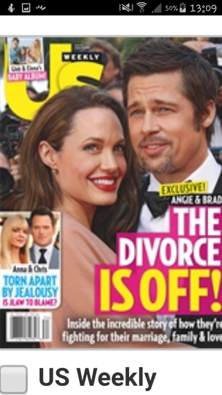 Subscription to US weekly magazine