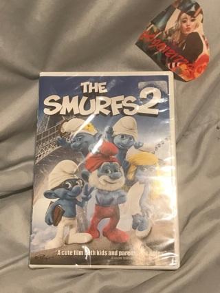 The Smurfs 2 DVD Movie (Free Shipping)