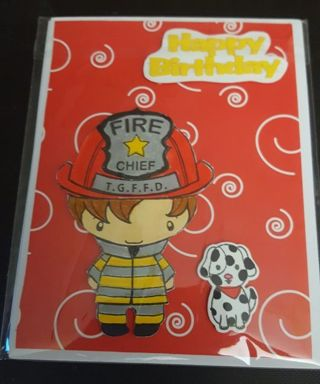Handmade card Happy Birthday