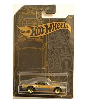 Hot Wheels Compatible Custom '67 Pontiac Firebird 3 of 6 51st Anniversary Satin & Chrome Series