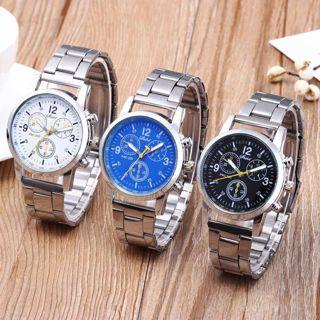 Luxury Brand Military Quartz Watch Men Sports Wrist Watch Neutral Analog Steel Band Quartz