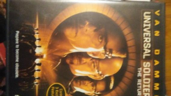 Universal Soldier- The Return DVD, EUC