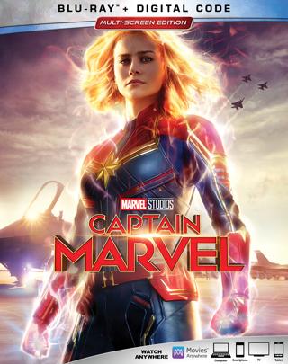 Captain Marvel (Digital HD Download Code Only) **Brie Larson** **Samuel L. Jackson**