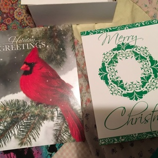 44 Christmas cards free shipping