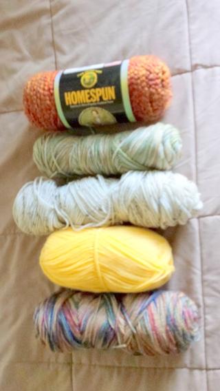 Knitting Grab Bag