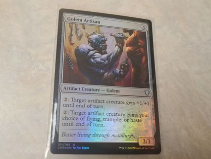 Magic the gathering mtg Golem Artisan foil card Commander Legends