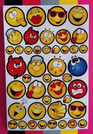 Emoji STICKER sheet *ShipsFREE in US*